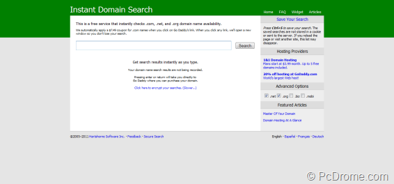 instant-domain-search-screenshot